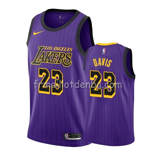 Maillot Los Angeles Lakers Anthony Davis Ciudad 2019-20 Volet