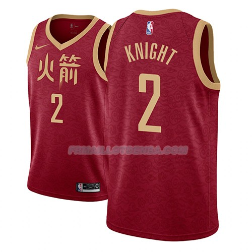 Maillot Los Angeles Lakers Brandon Knight Ciudad 2018-19 Rouge
