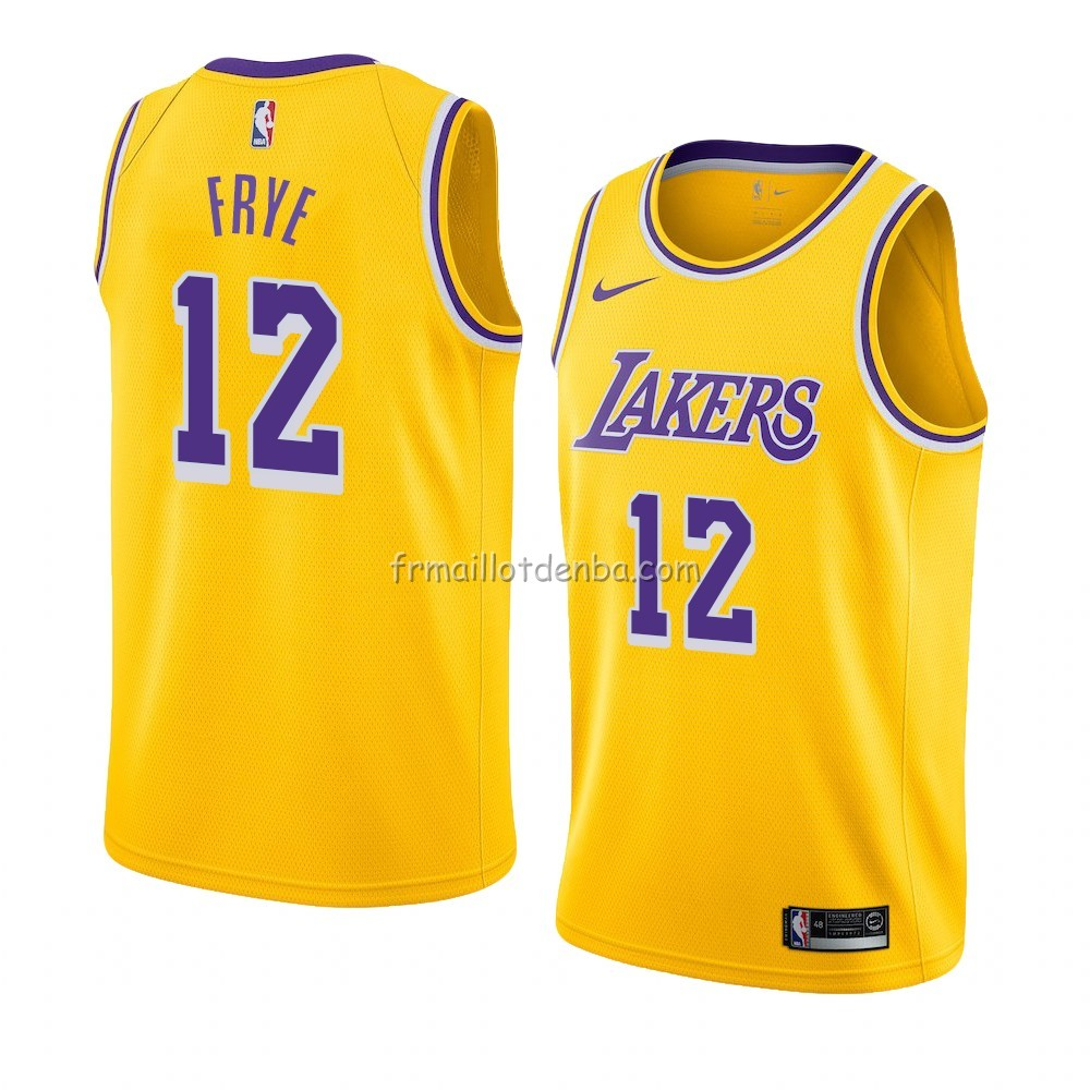 Maillot Los Angeles Lakers Channing Frye Icon 2018-19 Jaune