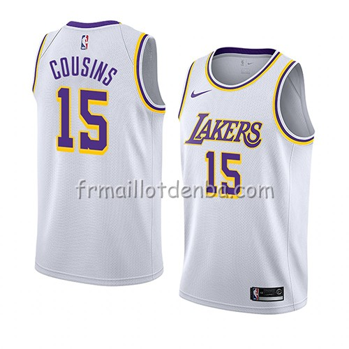 Maillot Los Angeles Lakers Demarcus Cousins Association 2019-20 Blanc