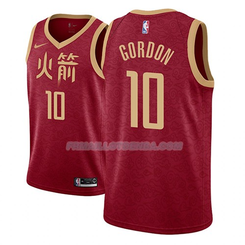 Maillot Los Angeles Lakers Eric Gordon Ciudad 2018-19 Rouge