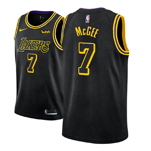 Maillot Los Angeles Lakers Javale Mcgee Ciudad 2018 Noir