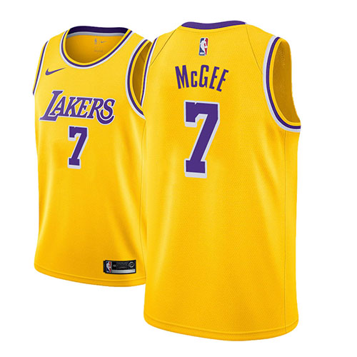 Maillot Los Angeles Lakers Javale Mcgee Icon 2018-19 Or