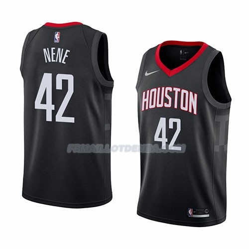 Maillot Houston Rockets Nene Statement 2018 Noir
