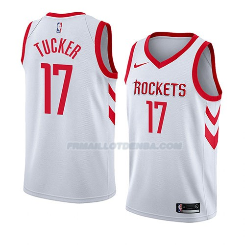 Maillot Houston Rockets P.j. Tucker Association 2018 Blanc
