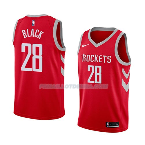 Maillot Houston Rockets Tarik Black Icon 2018 Rouge