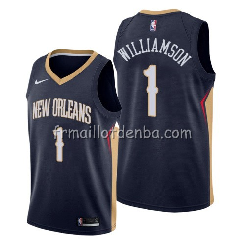 Maillot New Orleans Pelicans Zion Williamson Icon 2019-20 Bleu
