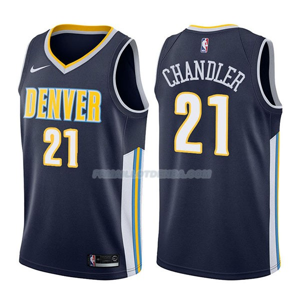 Maillot Denver Nuggets Wilson Chandler Icon 2017-18 21 Azul