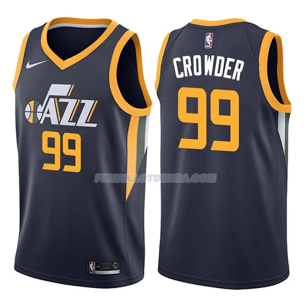 Maillot Utah Jazz Jae Crowder Icon 2017-18 99 Azul