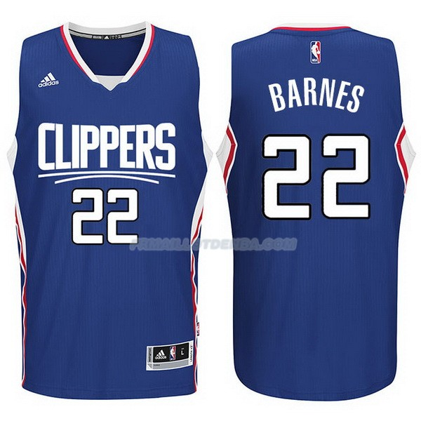 Maillot Basket Los Angeles Clippers 2017-18 Barnes 22 Azul