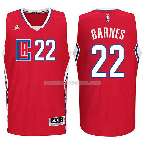 Maillot Basket Los Angeles Clippers 2017-18 Barnes 22 Rojo