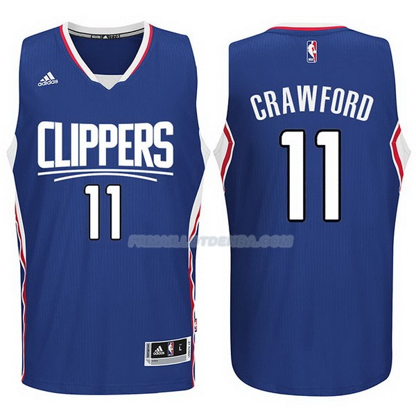 Maillot Basket Los Angeles Clippers 2017-18 Crawford 11 Azul