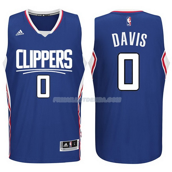 Maillot Basket Los Angeles Clippers 2017-18 Davis 0 Azul