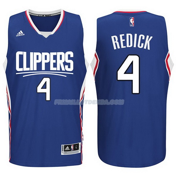 Maillot Basket Los Angeles Clippers 2017-18 Redick 4 Azul