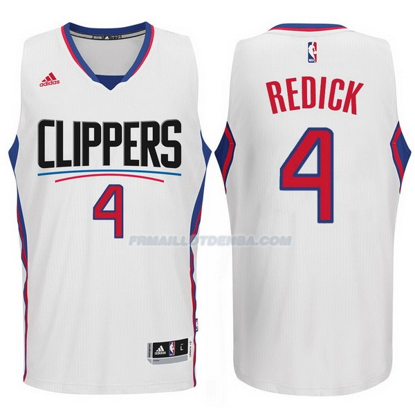 Maillot Basket Los Angeles Clippers 2017-18 Redick 4 Blanco