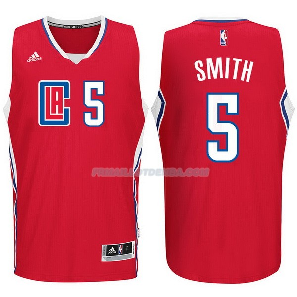 Maillot Basket Los Angeles Clippers 2017-18 Smith 5 Rojo