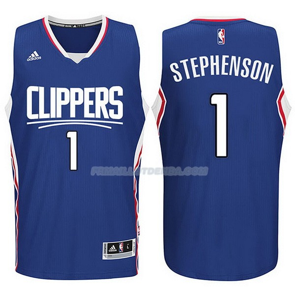 Maillot Basket Los Angeles Clippers 2017-18 Stephenson 1 Azul