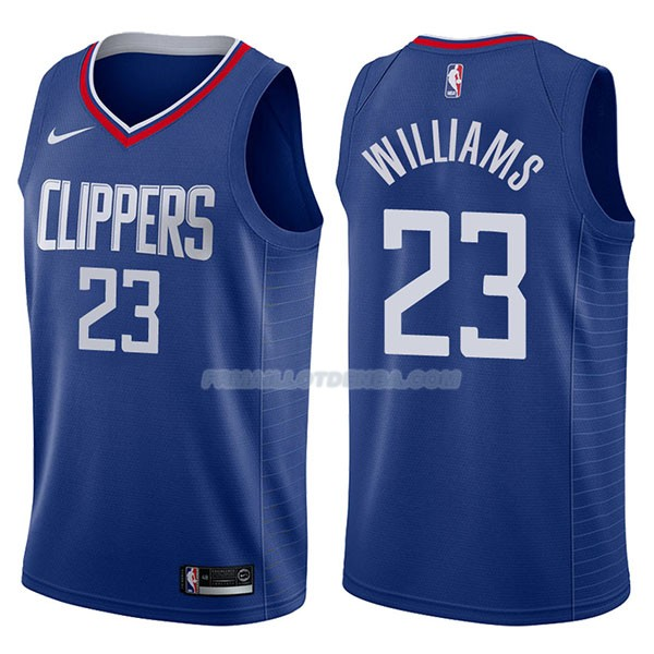 Maillot Los Angeles Clippers Lou Williams Icon 2017-18 23 Azul
