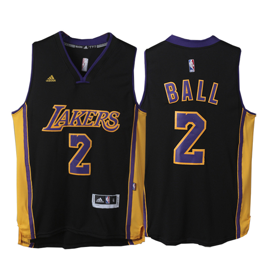 Maillot Basket Los Angeles Lakers Ball 2 Noir