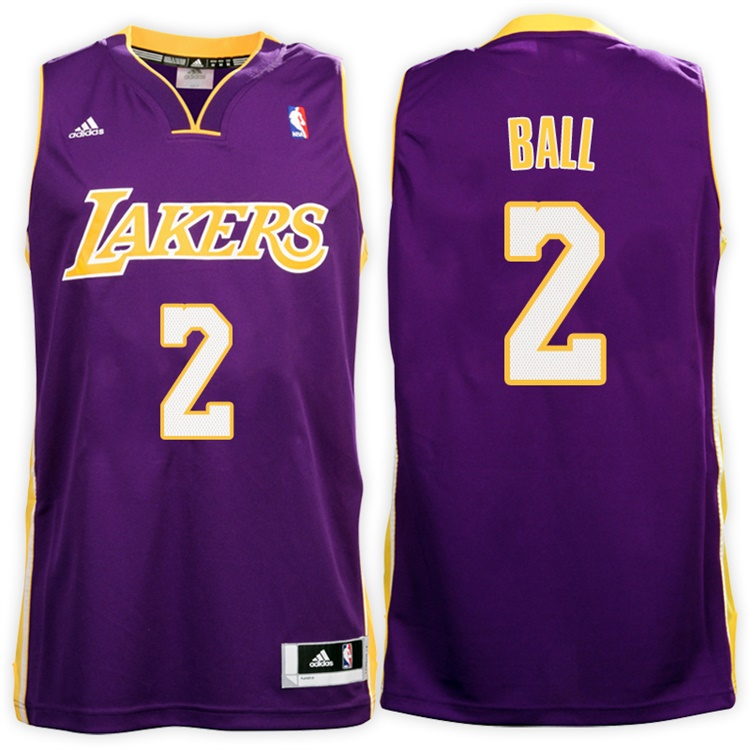 Maillot Basket Los Angeles Lakers Ball 2 Volet