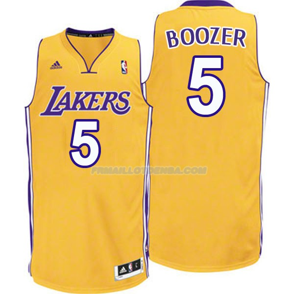 Maillot Basket Los Angeles Lakers Boozer 5 Amarillo