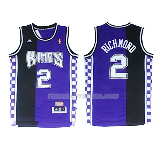 Maillot Sacramento Kings Mitch Richmond 2017-18 2 Volet
