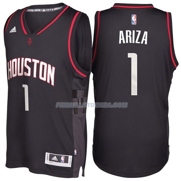 Maillot Basket Alternate Black Space City Houston Rockets Ariza 1 Negro