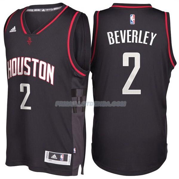 Maillot Basket Alternate Black Space City Houston Rockets Beverley 2 Negro