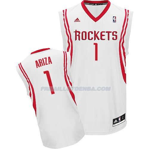 Maillot Basket Houston Rockets Ariza 1 Blanco