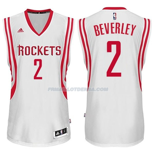 Maillot Basket Houston Rockets Beverley 2 Blanco