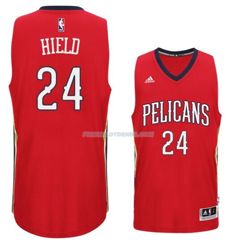 Maillot Basket New Orleans Pelicans Hield 24 Rojo