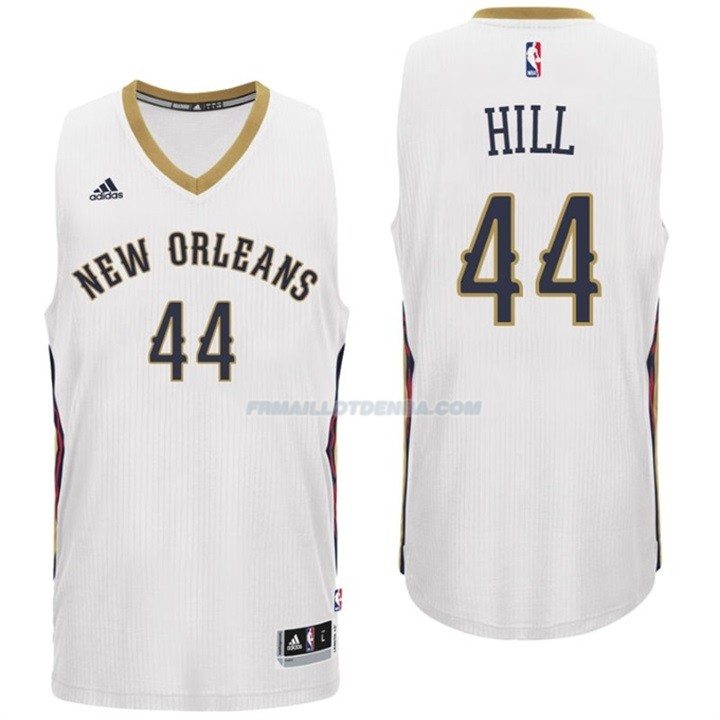 Maillot Basket New Orleans Pelicans Hill 44 Blanco