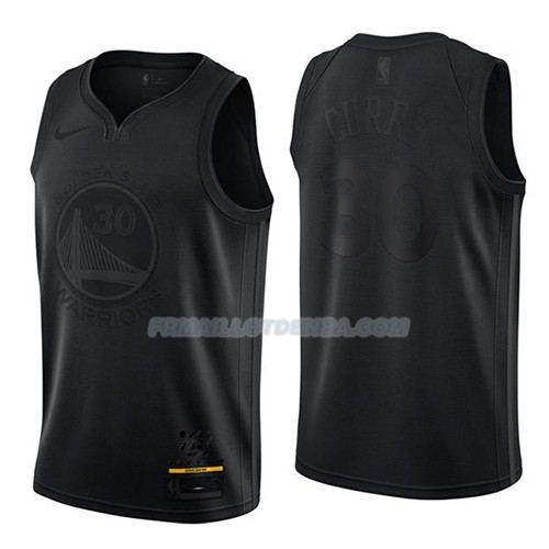 Maillot Golden State Warriors Stephen Curry Mvp Noir