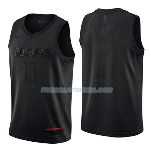 Maillot Houston Rockets James Harden Mvp Noir