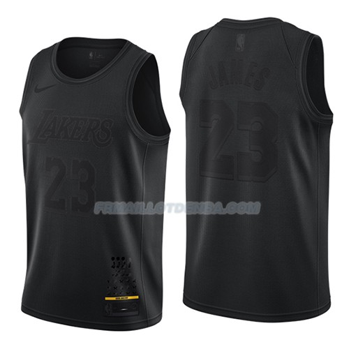 Maillot Los Angeles Lakers Lebron James Mvp Noir